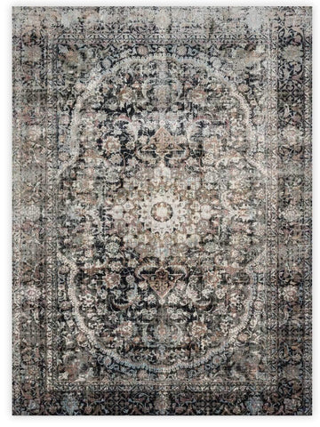 Antiquity - Charcoal 5336B Machine Made Area Rug - Jordans Flooring