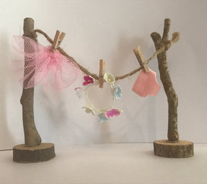 Handmade Fairy Washing Line