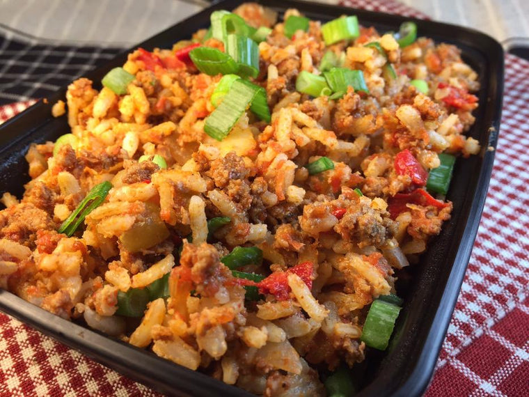 Pepper Rice Prepared Meal