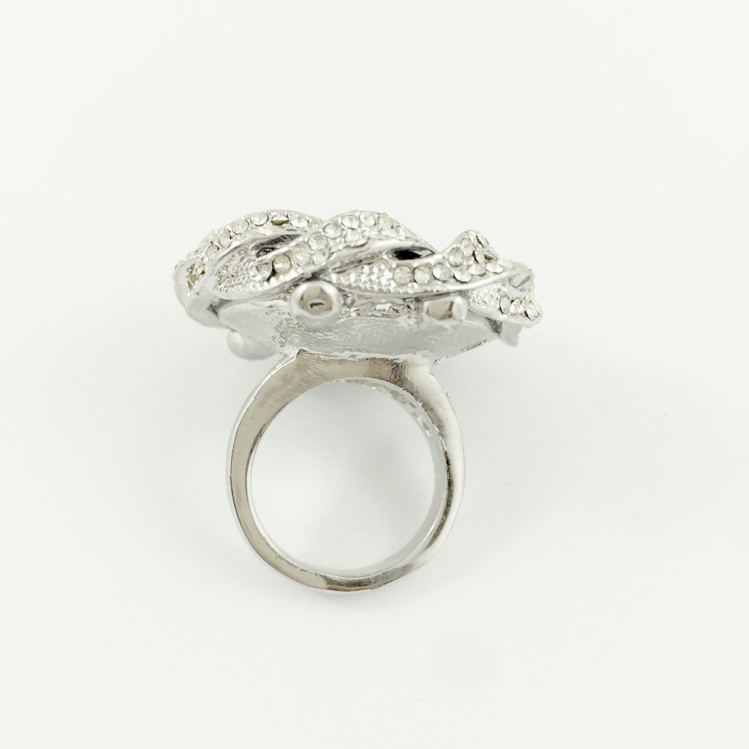 Oval Glam Cocktail Ring