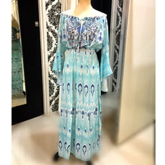 Mediterranean Gem Dress Teal