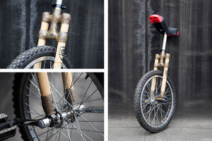 Unicycle - Simple Bikes Bamboo Bikes