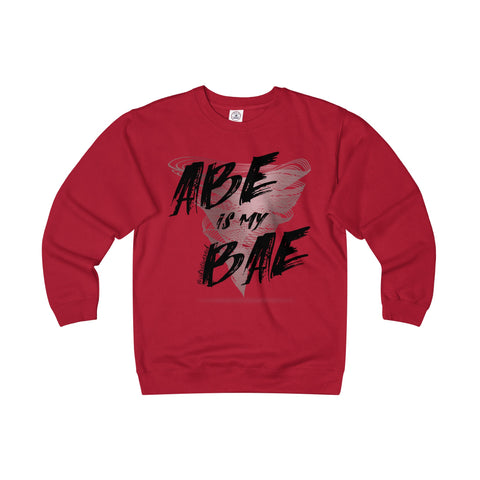 Abe Is My Bae - Men's Heavyweight Fleece Crew Neck Sweatshirt