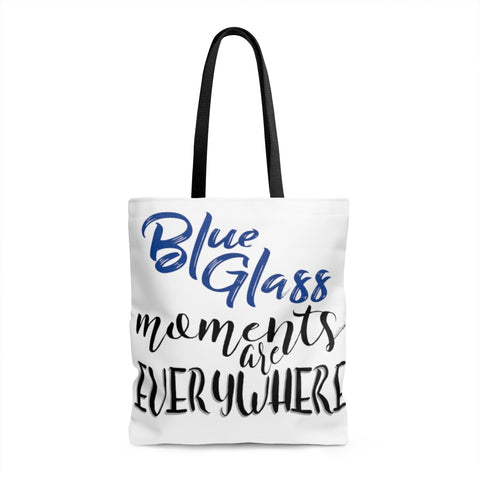 Blue Glass Moments - Tote Bag | 3 Sizes