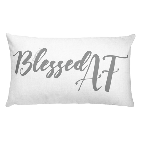 Blessed AF - Rectangular Pillow