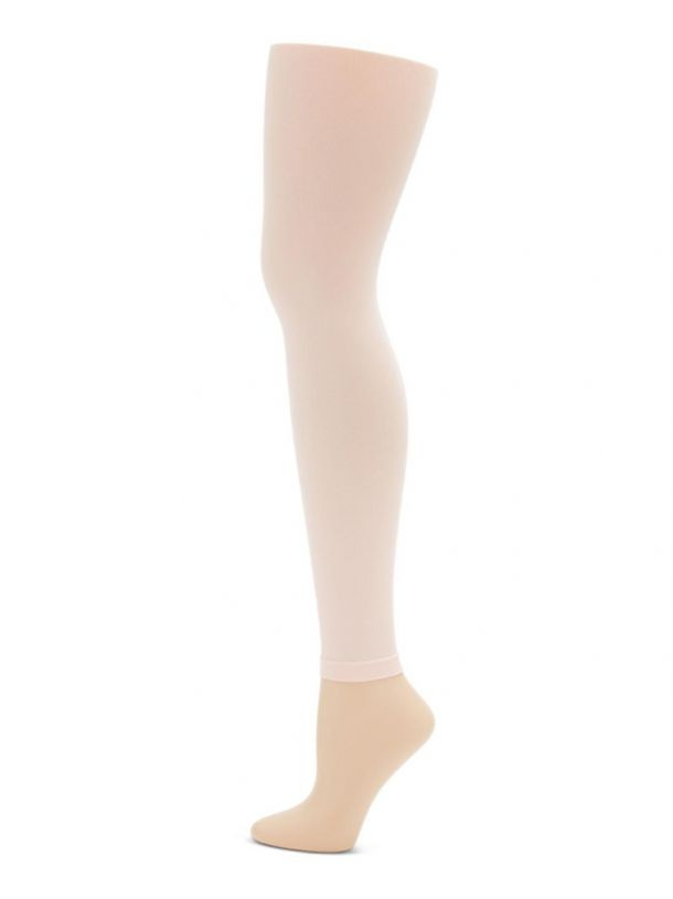 Capezio Footless Tights with Self Knit Waistband