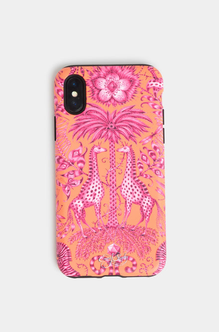 Emma Shipley Kruger Orange Phone Case