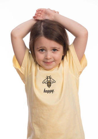 Bee Happy Kids Tee