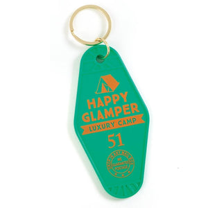 Retro Motel Keyring