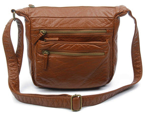 The Elsa Crossbody-Brown-Ampere Creations