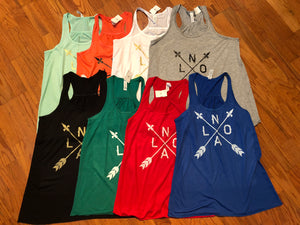 NOLA Arrow, Womens Flowy Tank