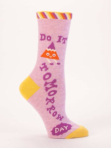 Do It Tomorrow,  W-Crew Socks