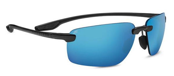 Serengeti Erice 8503 Sunglasses <span>-Sanded Dark Grey Polarized 555nm Blue, Photochromic Lenses</span>