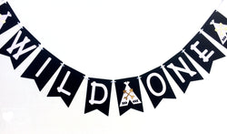 Wild One Teepee Pennant banner