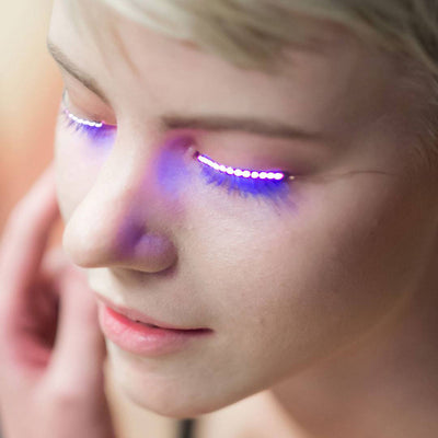 Rave Queen LED Eye Accessory (RED)