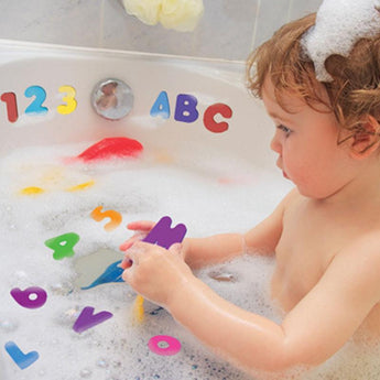 Letters and Numbers Bath Toys, 36 Count
