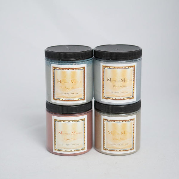 Metallic Masters Gilding Patina 8oz by Heirloom Traditions Paint