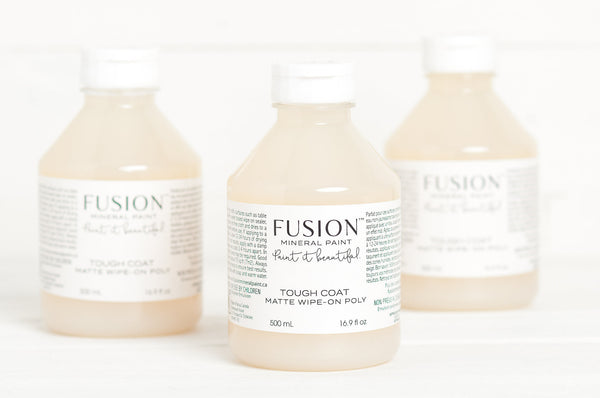 Fusion™ CLEAR TOUGH COAT Matte Wipe-on Poly (500ml)
