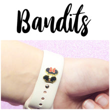 Bandits™: (Mouse Hat charm for Apple Watch band/Magicband)