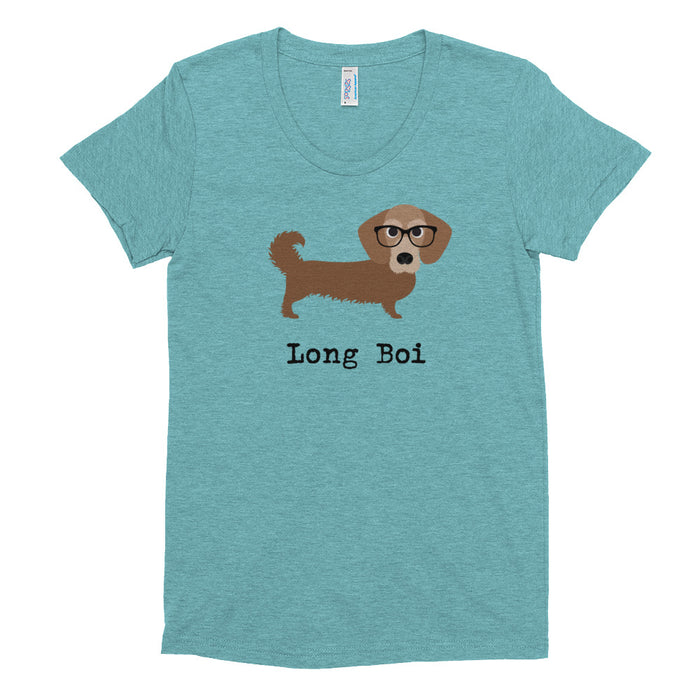 Long Boi - Dachshund tee - Women