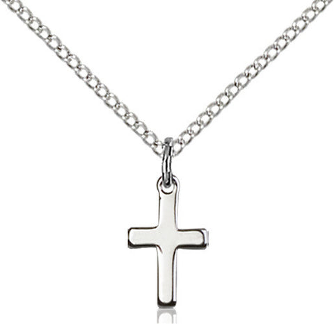 STERLING SILVER CROSS (POLISHED)