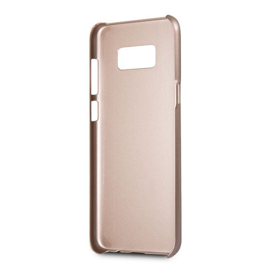 Guess Pink Aluminum Hard Phone Case for Samsung Galaxy S8 Plus