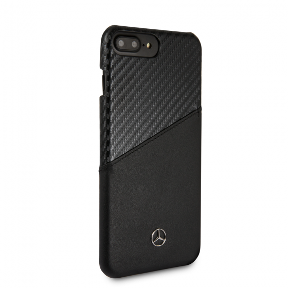 iPhone 8 & iPhone 7 Mercedes Benz Carbon Fiber and Leather Dynamic Pattern