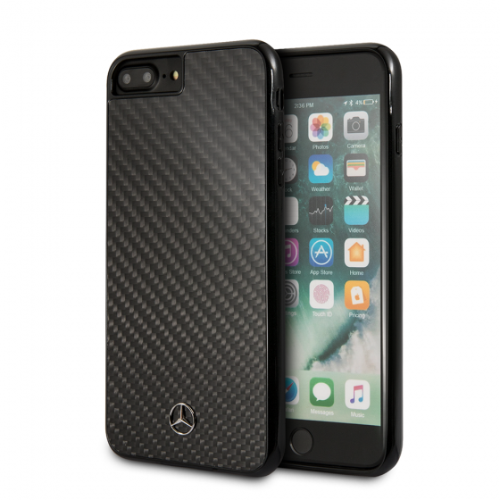 iPhone 8 Plus & iPhone7 Plus Mercedes Benz Carbon Fiber Dynamic Pattern