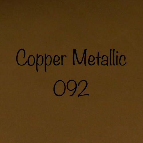Oracal 651 Permanent Adhesive Vinyl Copper Metallic (092)