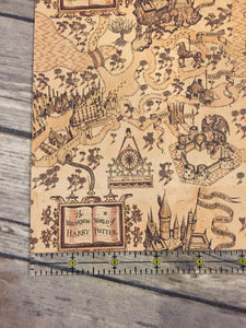 Faux Leather  Harry Potter  Maraudor Map