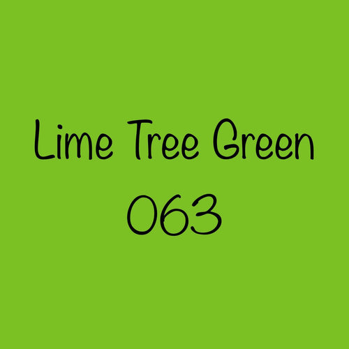 Oracal 651 Permanent Adhesive Vinyl Lime Tree Green