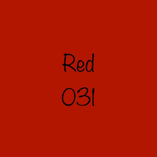 Oracal 651 Permanent Adhesive Vinyl Red (031)
