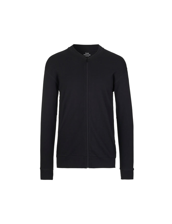 Cotton Rib Stelt Jacket, Black