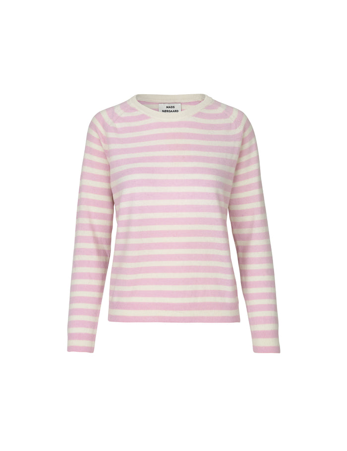 Cosy Stripe Kaxa Stripe, Light Pink/Ecru
