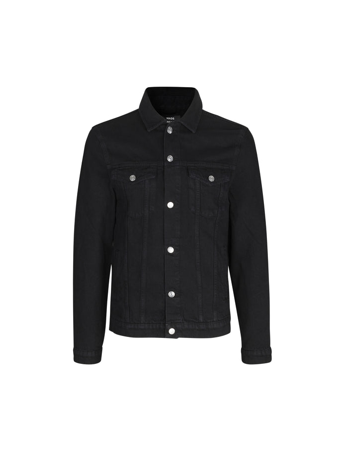 Denim Jacket Ziggy, Black