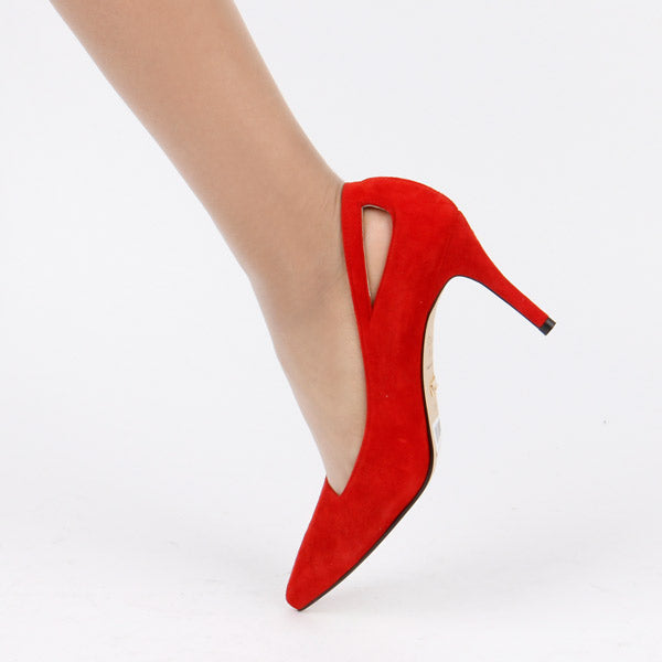 *NORMA CLASSIC - red, 8cm size UK 2.5