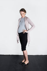 MATRON SAINT the executive maternity wrap jacket dusty rose 127