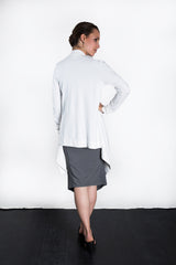 MATRON SAINT the executive maternity wrap jacket white 127