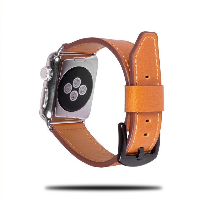 All Brown Leather Apple Watch Band & Strap-Apple Watch Band-Kulör Cases