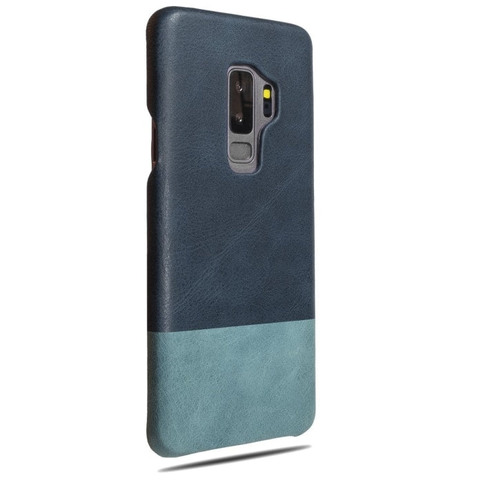 Buy personalized Peacock Blue & Ocean Blue Samsung Galaxy S9+ Plus Leather Case online-Kulör Cases
