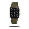 Olive Green Suede Leather Apple Watch Band & Strap-Apple Watch Band-Kulör Cases