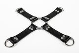 Rubber Hog-Tie Harness w/ D-Rings