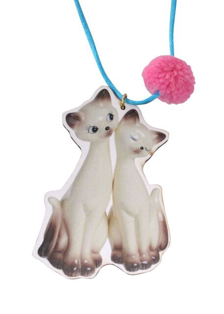 I Am Siamese Cats Necklace