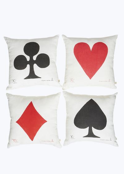 Heart Carte Cushion