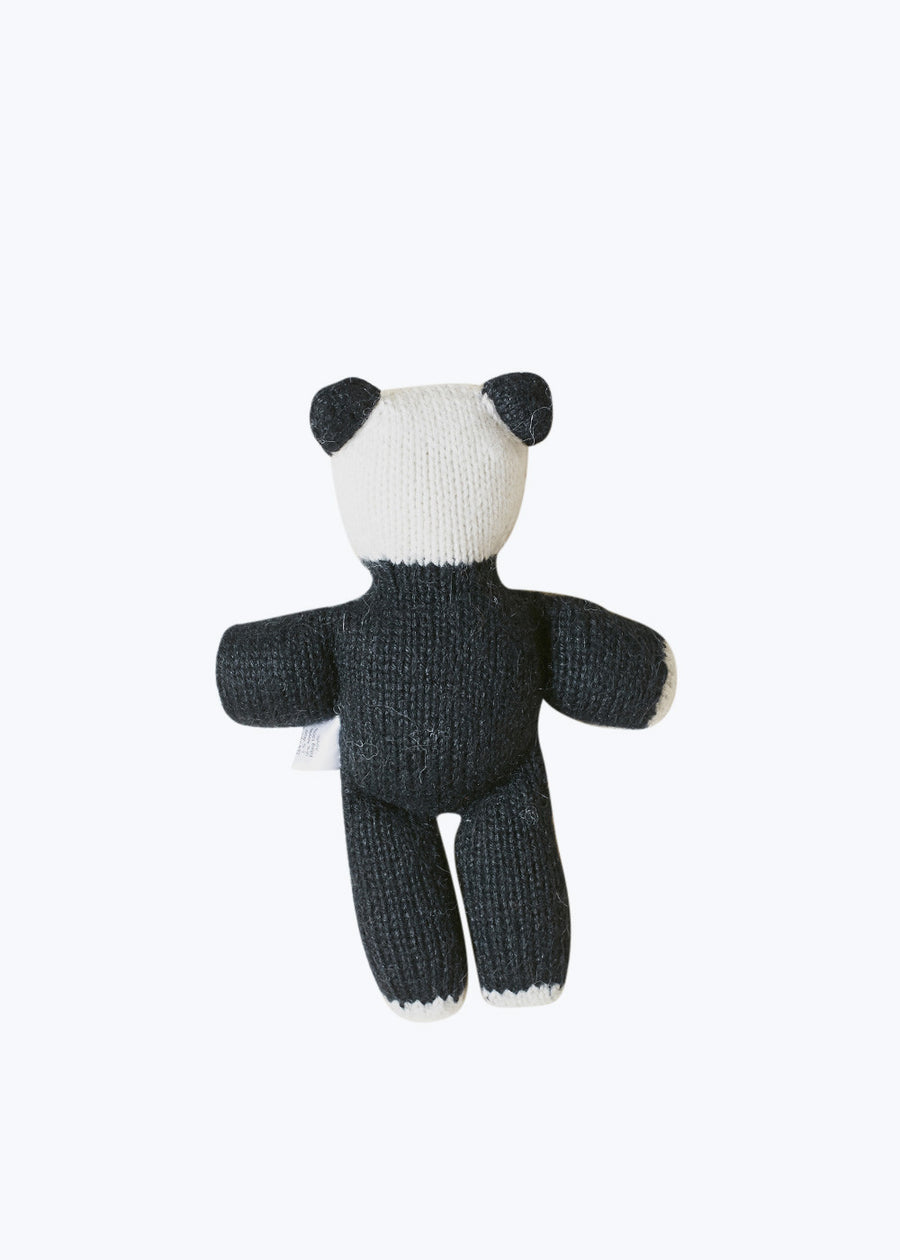 Handknit Panda Bear Stuffed Animal