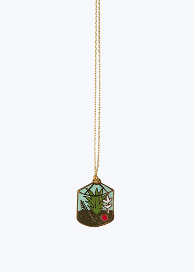 Terrarium Pendant Necklace