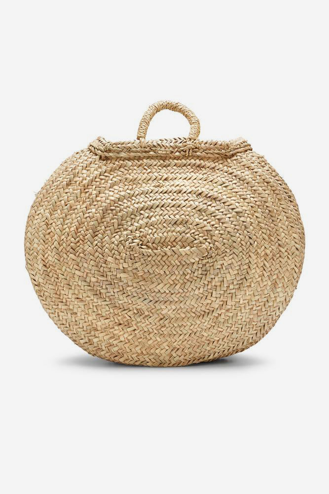 moroccan beach basket large
