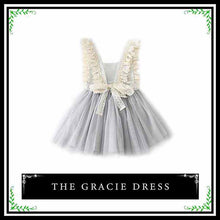 The Gracie Dress | Gray Sleeveless Dress for Stylish Baby Girl