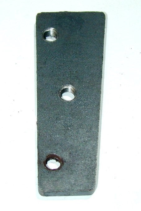 Front Door Pillar Lower Insert Plate - For Hinge Bolts