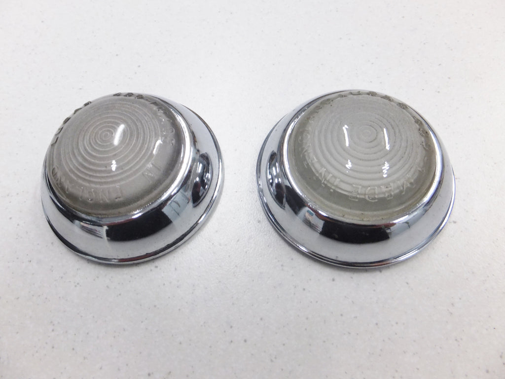Sidelight Lens' - Pair - Genuine Lucas - Brand New - Never Used - Very High Quality - Perfect
